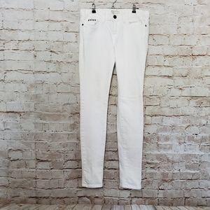 Current/ Elliot White Studs Wash Studded Skinny